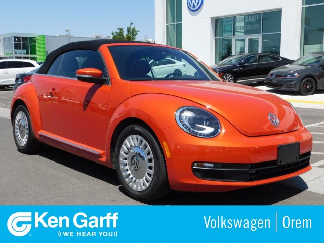 Pre-Owned 2016 Volkswagen Beetle Convertible 2DR CNV 1.8 SE AT