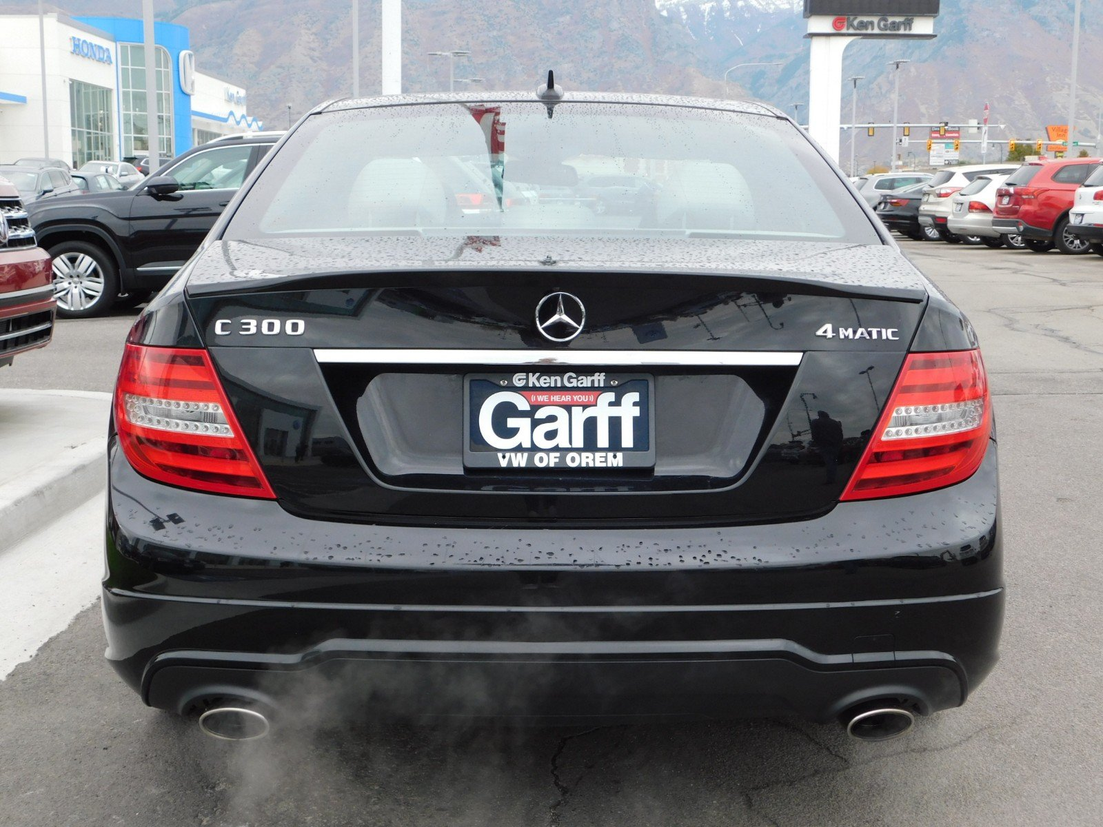 Pre Owned 2014 Mercedes Benz C Class C 300 Luxury 4dr Car in Orem