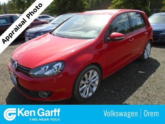 Pre-Owned 2012 Volkswagen Golf 4DR HB DSG TDI TECH