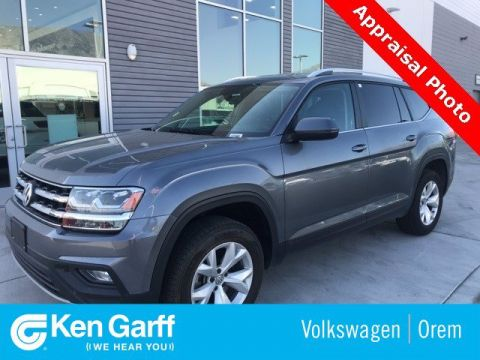 Certified Pre-Owned 2019 Volkswagen Atlas 3.6L V6 SE