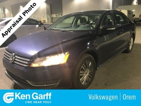 Pre-Owned 2015 Volkswagen Passat 4DR SDN 1.8T S AT
