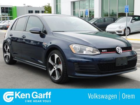 Certified Pre-Owned 2016 Volkswagen Golf GTI 4DR HB DSG S