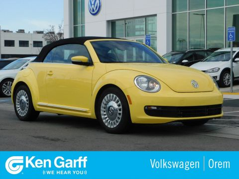 Pre-Owned 2016 Volkswagen Beetle Convertible 2DR AUTO 1.8T SEL