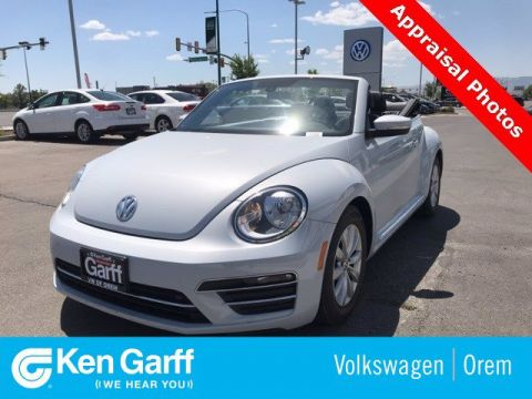 Pre-Owned 2017 Volkswagen Beetle Convertible 1.8T S AUTO