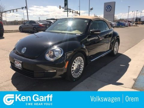 Pre-Owned 2013 Volkswagen Beetle Convertible 2DR CNV 2.5L AT