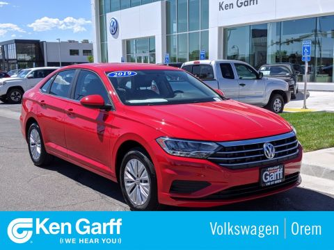 Certified Pre-Owned 2019 Volkswagen Jetta 4DR SDN 1.4 S AT
