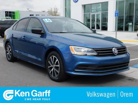 Certified Pre-Owned 2016 Volkswagen Jetta Sedan 4DR SDN 1.4T SE AT