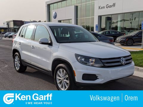 Certified Pre-Owned 2018 Volkswagen Tiguan Limited 4DR 4MOTION