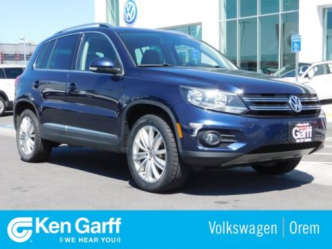 Pre-Owned 2015 Volkswagen Tiguan 4MOTION 4DR AUTO SEL