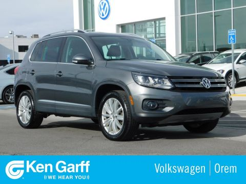 Pre-Owned 2016 Volkswagen Tiguan 4MOTION 4DR AUTO SE
