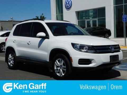 Pre-Owned 2016 Volkswagen Tiguan 4MOTION 4DR AUTO S