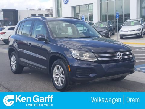 Pre-Owned 2016 Volkswagen Tiguan 4DR 4MOTION AT S