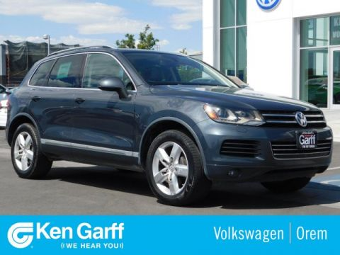 Pre-Owned 2012 Volkswagen Touareg 4DR TDI LUX