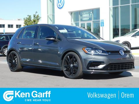 New 2019 Volkswagen Golf R W/DCC & NAV 7-SPD